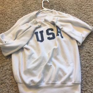 brandy Melville super cute usa jacket
